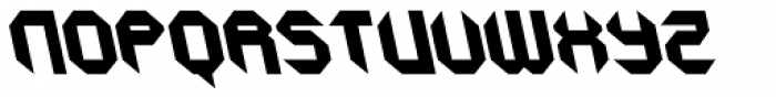 GetaRobo Closed AItalic Font UPPERCASE