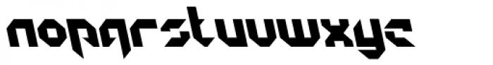 GetaRobo Closed AItalic Font LOWERCASE