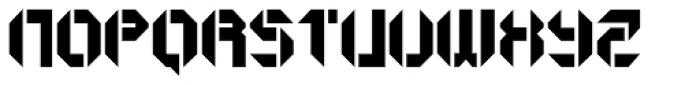 GetaRobo Open Font UPPERCASE