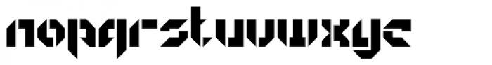 GetaRobo Open Font LOWERCASE