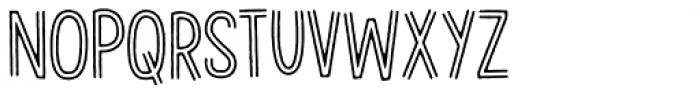 Gevinst Twoline Font UPPERCASE
