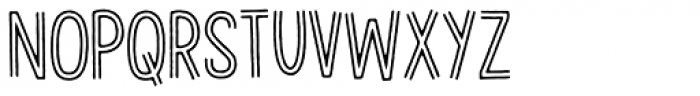Gevinst Twoline Font LOWERCASE