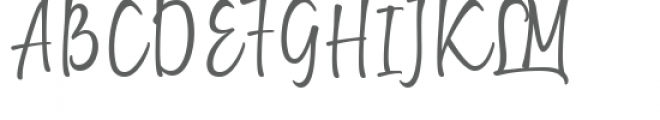 Getting Lost Font UPPERCASE