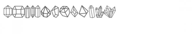 gems doodlebat Font LOWERCASE