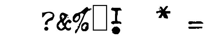 GF Halda Normal Font OTHER CHARS