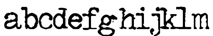 GF Halda Normal Font LOWERCASE