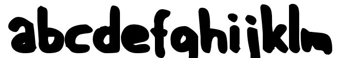 GF Matilda bold Font LOWERCASE