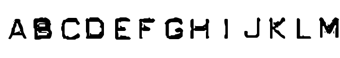 GF Ordner Inverted Font UPPERCASE