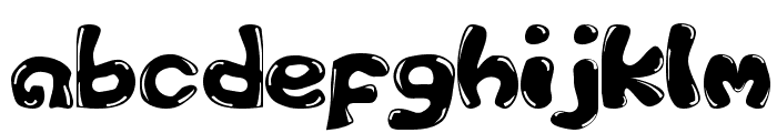 GFS-Custom Bubble 1 Font LOWERCASE