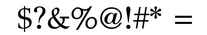 GFS Didot Regular Font OTHER CHARS
