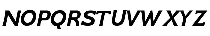GFS Neohellenic Bold Italic Font UPPERCASE
