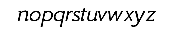 GFS Neohellenic Italic Font LOWERCASE