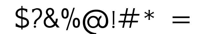 GFS Neohellenic Regular Font OTHER CHARS