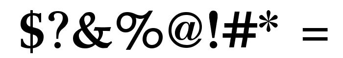 GFSDidot-Bold Font OTHER CHARS