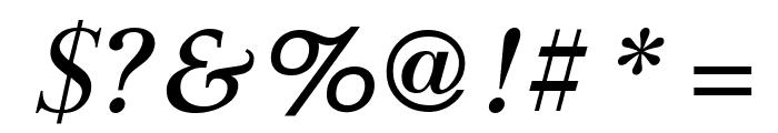 GFSDidot-BoldItalic Font OTHER CHARS