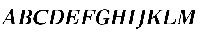 GFSDidot-BoldItalic Font UPPERCASE