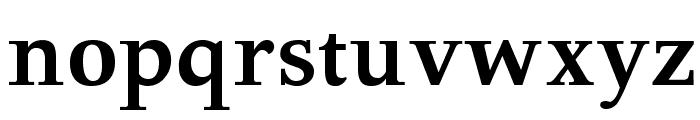 GFSDidot-Bold Font LOWERCASE