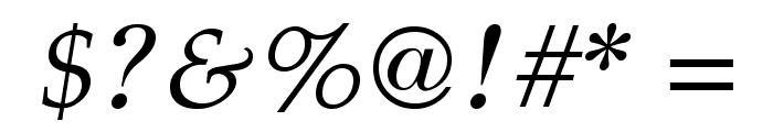 GFSDidot-Italic Font OTHER CHARS