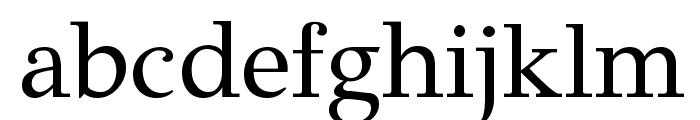GFSDidot-Regular Font LOWERCASE