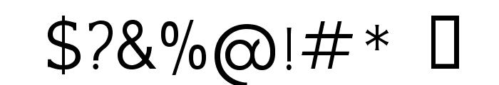 GFSNeohellenic-Regular Font OTHER CHARS