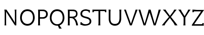 GFSNeohellenic-Regular Font UPPERCASE