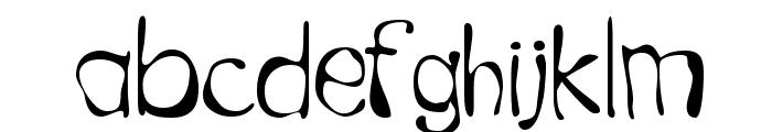 GFWet Font LOWERCASE