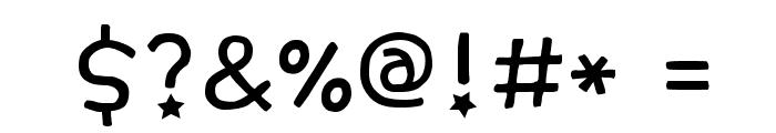 GF_007GoldenPig Font OTHER CHARS