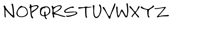 GFY Jeanna Regular Font UPPERCASE