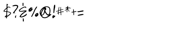 GFY Mancini Regular Font OTHER CHARS