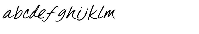 GFY Michael Regular Font LOWERCASE