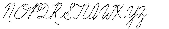 GFY Sunny Regular Font UPPERCASE