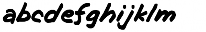GFY Bobby Font LOWERCASE