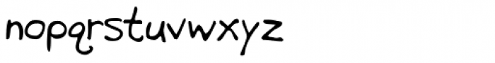 GFY Brutus Font LOWERCASE