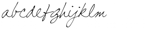 GFY Carmela Font LOWERCASE