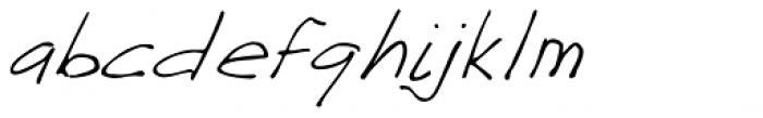 GFY Jacks Blue Print Font LOWERCASE