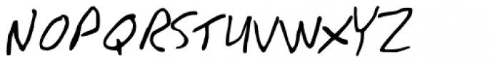GFY Junior Font UPPERCASE