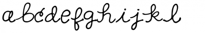 GFY Loopy Font LOWERCASE