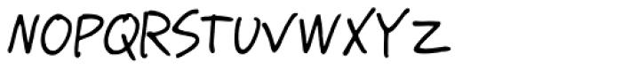 GFY Pollak Font LOWERCASE