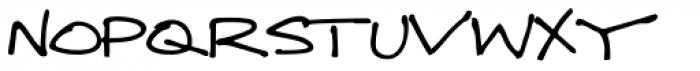 GFY Thornesmith Font UPPERCASE