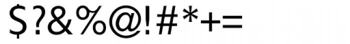 Gf H2O Sans Roman Font OTHER CHARS
