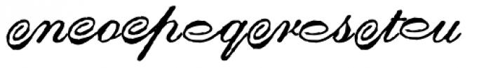 Gf Script No 2 Alternates Font UPPERCASE
