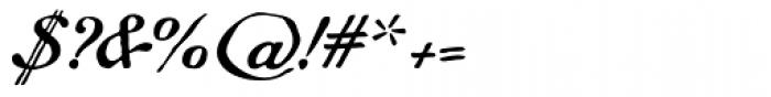 Gf Script No 5 Font OTHER CHARS