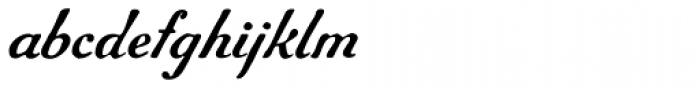 Gf Script No 5 Font LOWERCASE