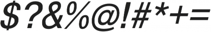 GGX88 Book Italic otf (400) Font OTHER CHARS