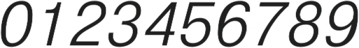 GGX88 Light Italic otf (300) Font OTHER CHARS