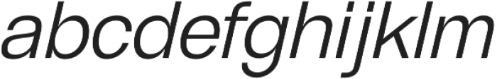 GGX88 Light Italic otf (300) Font LOWERCASE