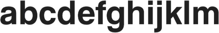GGX88 Regular otf (400) Font LOWERCASE