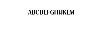 GG rattaporn Bold.ttf Font UPPERCASE