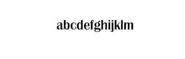 GG rattaporn Bold.ttf Font LOWERCASE