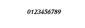 GGrattanpron-BoldItalic.ttf Font OTHER CHARS